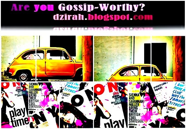 Are you Gossip-Worthy?