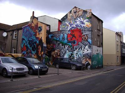 UK graffiti.