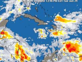 COE emite alertas amarilla y verde para 24 provincias por onda tropical y vaguada