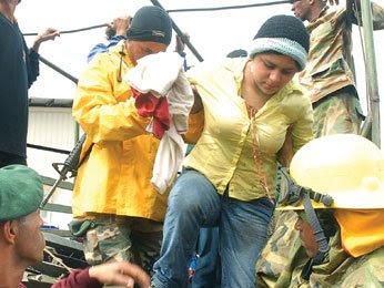 Damnificados del Cibao esperan ayuda del Gobierno