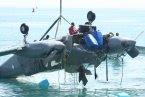 Rescatan avioneta accidentada en el mar caribe en Barahona
