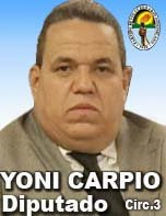 YONI CARPIO DICE NO CAMBIARA SU NUMERO DE CELULAR CUANDO SEA ELECTO DIPUTADO.