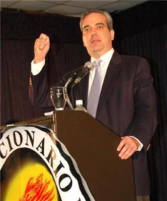 Luis Abinader  reafirma proyecto presidencial para el 2012