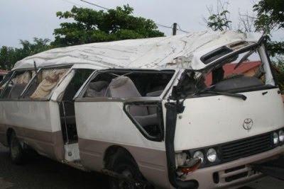 Aparatoso accidente deja 7 muertos y 15 heridos