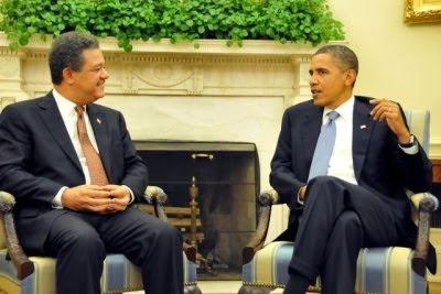 Obama y LF tratan crisis Haití, Honduras y lucha contra droga