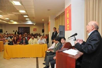Morales dice jóvenes son pieza clave en trabajo fortalecimiento del PRSC