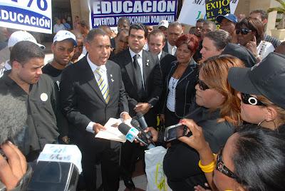 Alexis Jiménez votara en contra del presupuesto sino respeta Ley de Educación