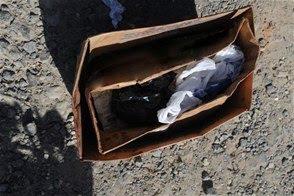 Encuentran 2 piernas humanas en una caja en la carretera El Higüero