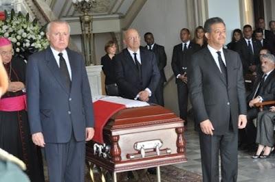 Fernández dice Jorge Blanco deja legado invaluable en lo político, académico y familiar