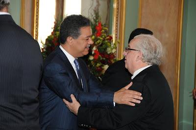 Presidente Fernández recibe el tradicionalsaludo de Año Nuevo