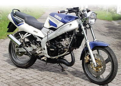 Steady y Sporty  MODIFIKASI Yamaha Tzm 150