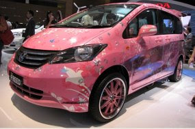 Modifikasi Honda Freed Pinky, 2011 New Cars, Honda reliable family car, Honda Motor Co, SPESIFIKASI Taksi Lova, MODIFIKASI Honda Freed