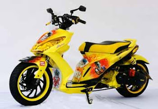 Suzuki Skydrive Modification