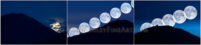 Three nights moonlighting (c) John Ashley. Click to see final results.