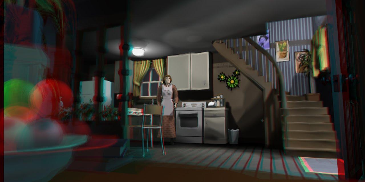Digima revolution cooking up some 3d pixels for Kitchen set 2d