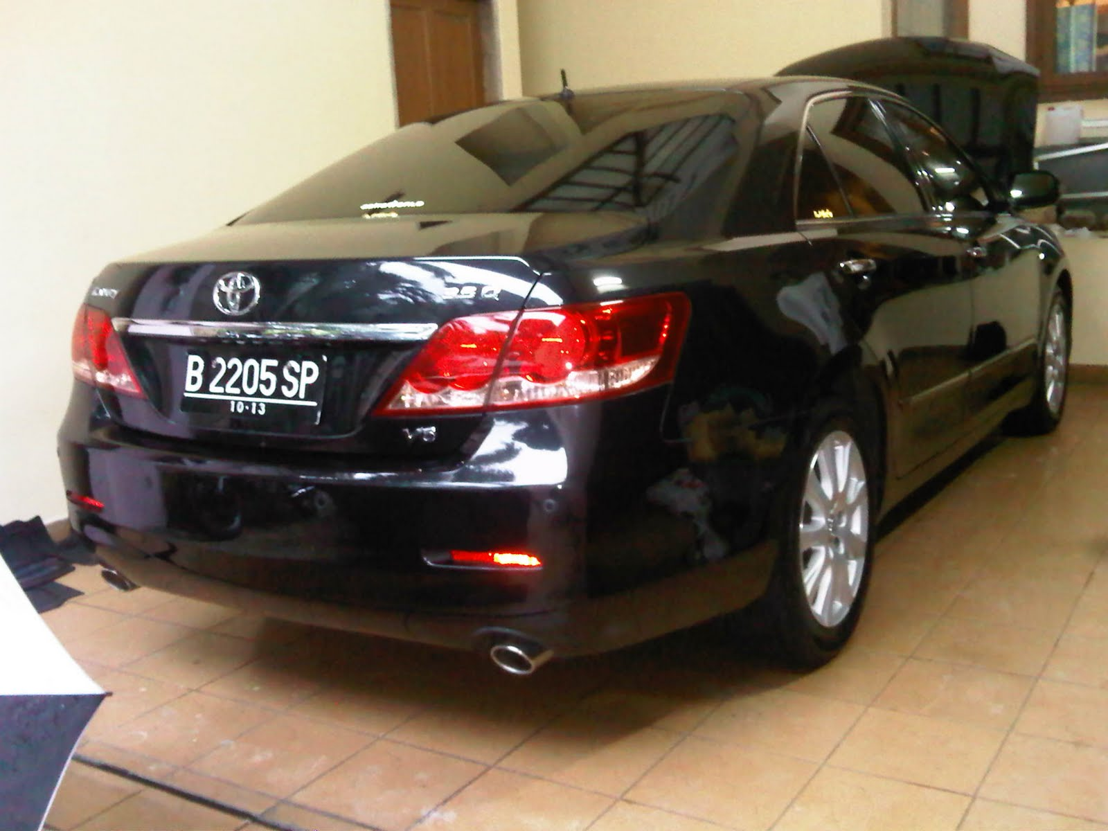 wactype car polish toyota camry 3 5q by wactype. Black Bedroom Furniture Sets. Home Design Ideas