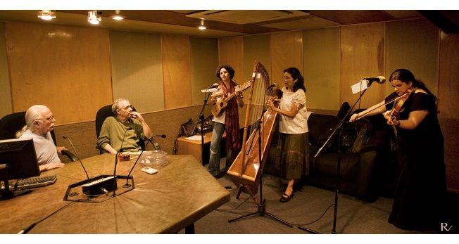 Durante la transmisión por Radio Educación abril 2009 / ©rodrigo vazquez