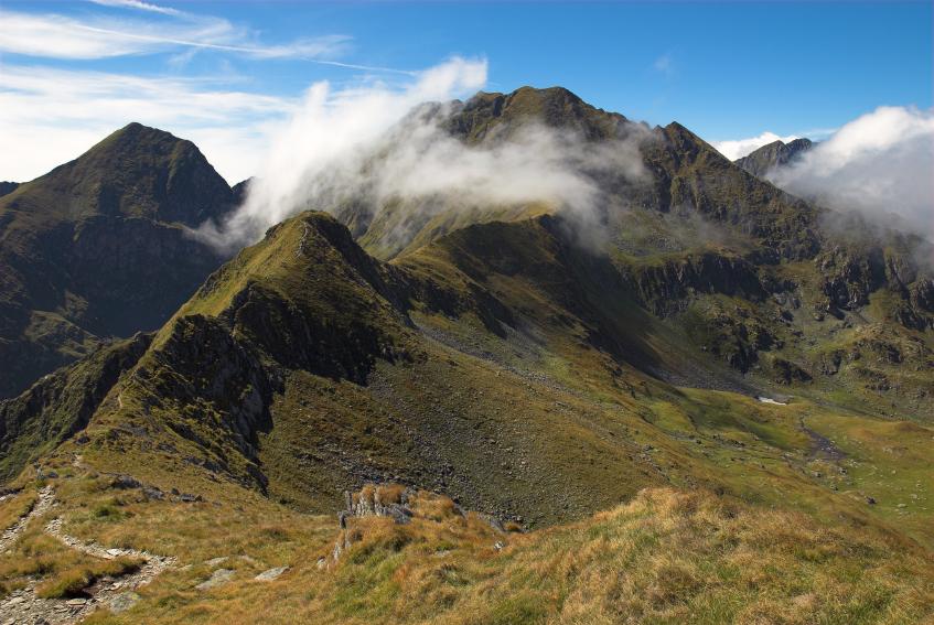 frankrike største fjell