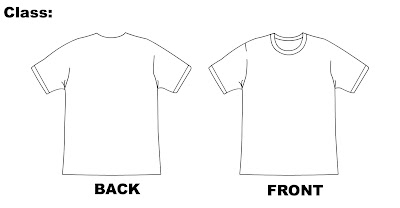 Cool T Shirt Designs Here Is The Template For The - Cool t shirt design templates