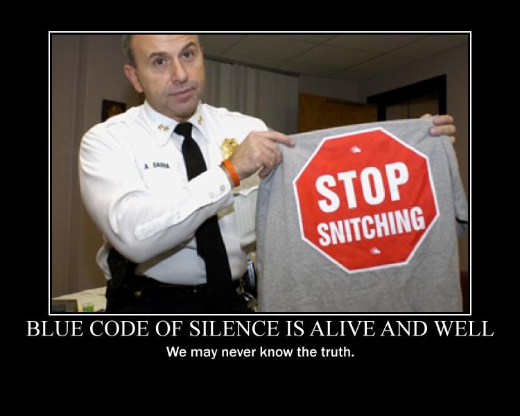 Police code of silence essay