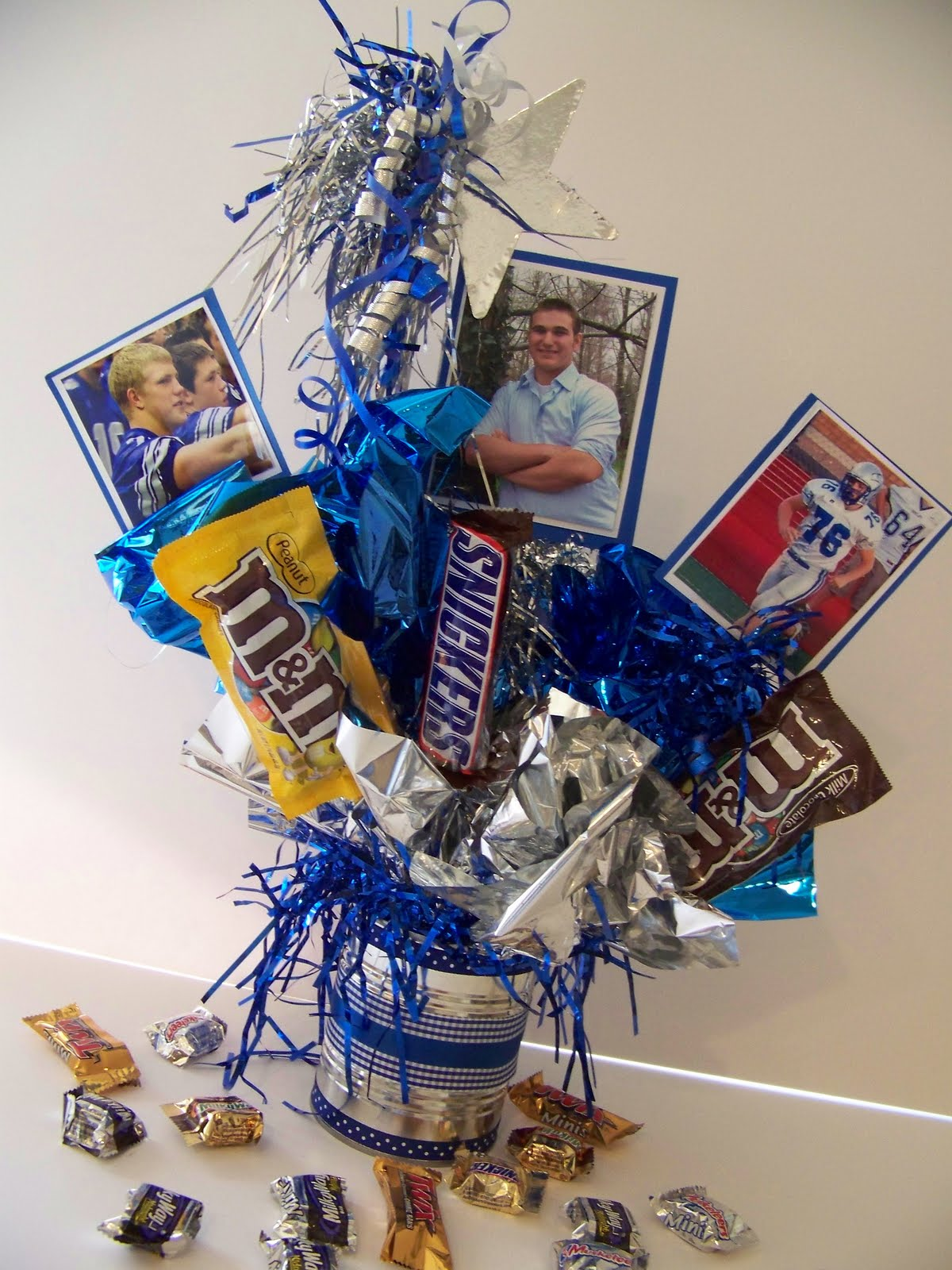 Graduation Candy Centerpiece Ideas : Creations from my heart a graduation memory board to