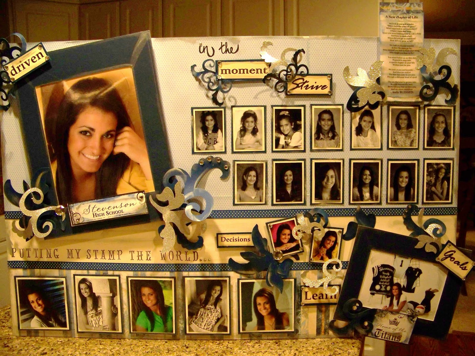 Graduation Announcements Invitations Shutterfly Graduation photo display boards