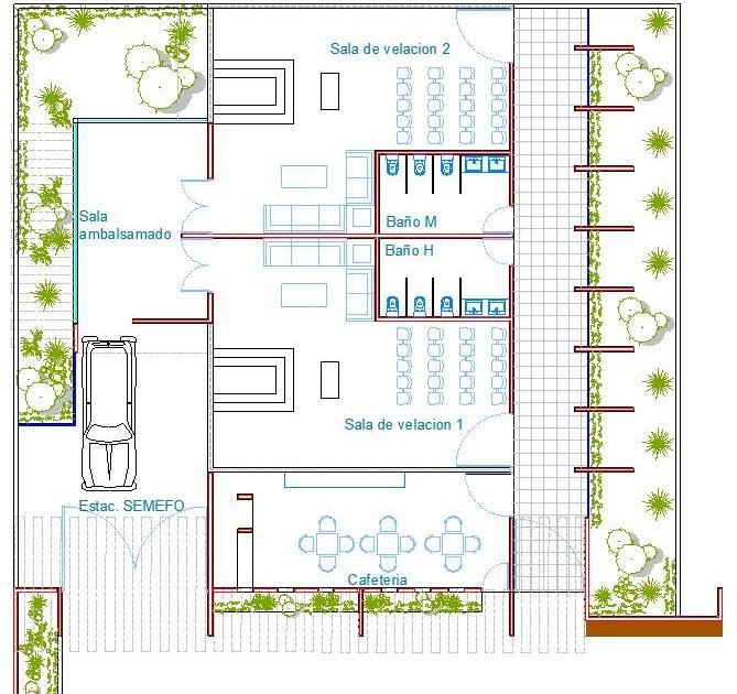Arquitectura forma espacio y funcion funeraria taxistas for Planta arquitectonica biblioteca