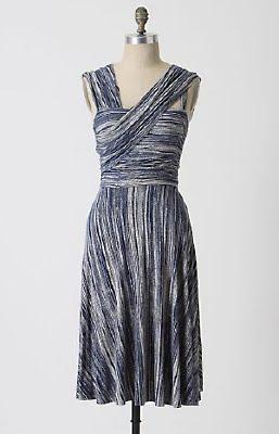 Cross Strap Jersey Dress
