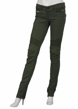 Biker Twill Army Pants