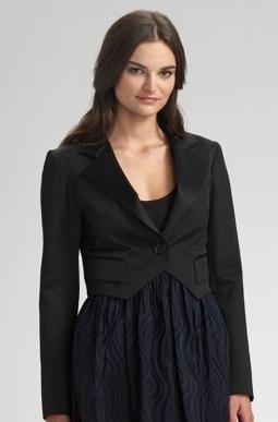 Shrunken Tuxedo Jacket