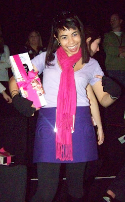 Me at the Barbie Runway Show