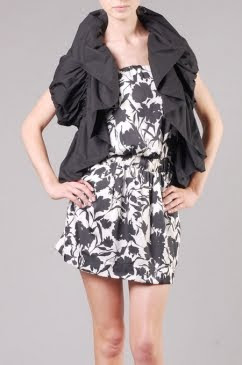 Frilled Short Jacket