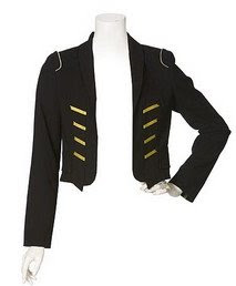 Cropped Bandleader Jacket