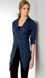 Open Front Cardigan Wrap