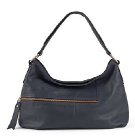 Asymmetrical Zipper Hobo