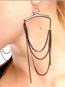 Chain Drape Earrings