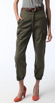 Elastic Cuff Army Pants