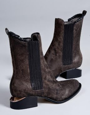 Cut Out Heel Boots