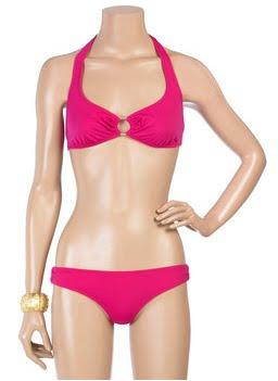 Hot Pink Halter Bikini