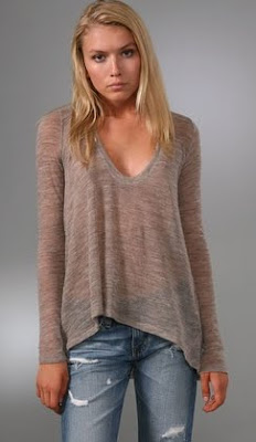 Sheer Wool Sweater