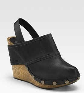 Slingback Wedge Clogs