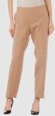 Wool Flannel Camel Pants