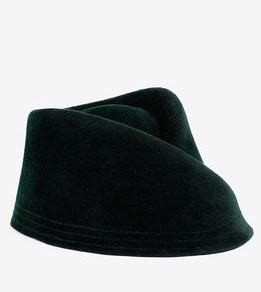 Velour Military Hat