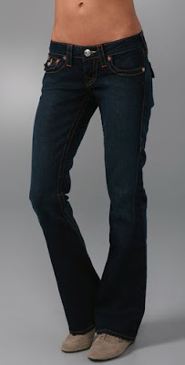 Petite Flared Jeans