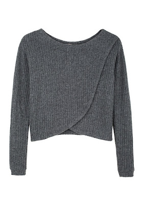 Foldover Sweater