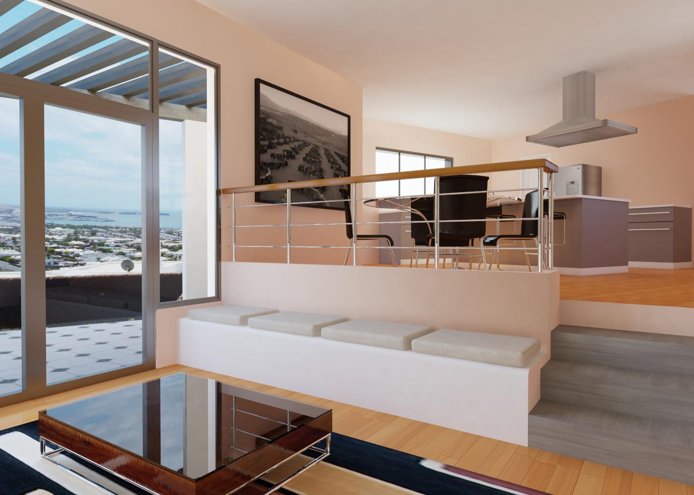 Glginfograf interior de vivienda unifamiliar lanzarote for Vivienda interior