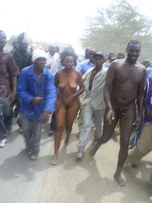 naked black students