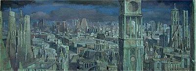 Erik Desmazières, Ville Imaginaire II (1998)