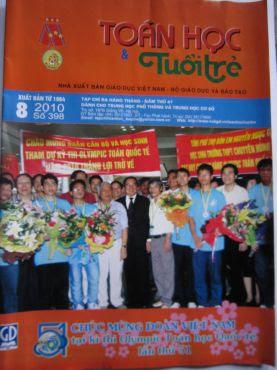 Tap chi Toan hoc Tuoi tre thang 8/2010 so 398