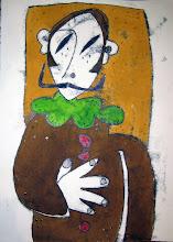 El caballero de la mano en el pecho . El Greco